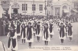 Ixelles Cortège Des Saisons Juillet 1910 Le Muguet - Ixelles - Elsene