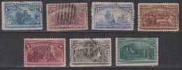 USA 1893 - Columbian Exposition - Usati