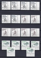 N°2309/2311 (pltn°set) MNH ** POSTFRIS ZONDER SCHARNIER SUPERBE - 1981-1990
