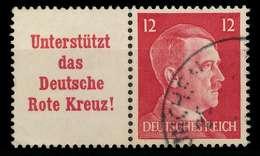 D-REICH ZUSAMMENDRUCK Nr W156 Gestempelt WAAGR PAAR X82B172 - Zusammendrucke