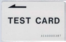 TEST CARD  - ACA0000387 - RARE - Voir Scans - Chine