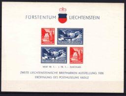 Liechtenstein 1936 Mi#Block 2 Mint Lightly Hinged - Ungebraucht