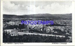 118957 GREECE ATHENES VIEW PARTIAL THE AREOPAGE POSTAL POSTCARD - Greece