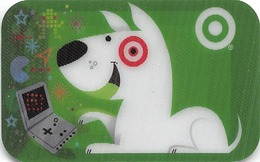 Target Gift Card - Lenticular 3D Card - Gift Cards