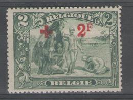 BELGIQUE:  N°161 *        - Cote 140€ - - 1918 Rotes Kreuz