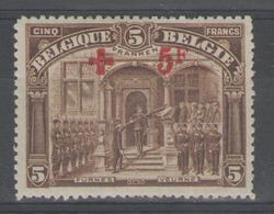 BELGIQUE:  N°162 *        - Cote 250€ - - 1918 Red Cross