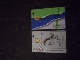 LOT 2 TELECARTES A PUCE ESPAGNE NEUVES NSB !!! - Collections