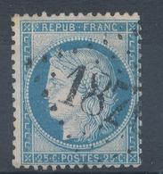 N°60C TYPE III  VARIETE MARQUER AU VERSO.. - 1871-1875 Ceres