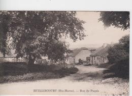 HAUTE MARNE - HUILLIECOURT - Rue Du Paquis - Autres Communes