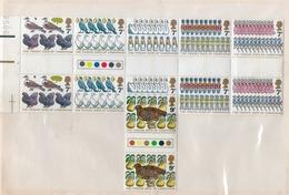 GRANDE-BRETAGNE 1977 LES 12 JOURS DE NOEL PAIRE  YVERT  N°840/45 NEUF MNH** - Unused Stamps