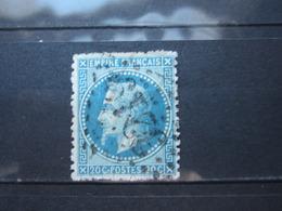 """VEND BEAU TIMBRE DE FRANCE N° 29B , G.C. """" 3219 """" !!! - 1863-1870 Napoléon III Lauré"""