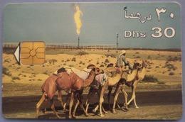 """UAE United Arab Emirates """"Camels"""" 30 Dhs - Emirats Arabes Unis"""