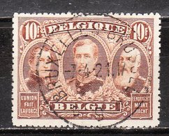 149  Emission De 1915 - Les 3 Rois - Bonne Valeur - Oblit. Centrale - LOOK!!!! - 1915-1920 Albert I.