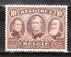 149*  Emission De 1915 - Les 3 Rois - Bonne Valeur - MH* - LOOK!!!! - 1915-1920 Albert I