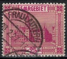 SARRE             N°     YVERT    91  ( 3 )      OBLITERE       ( Ob  5/26 ) - 1920-35 Saargebiet – Abstimmungsgebiet