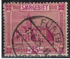 SARRE             N°     YVERT    91  ( 5 )      OBLITERE       ( Ob  5/26 ) - 1920-35 Saargebiet – Abstimmungsgebiet