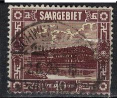 SARRE             N°     YVERT    93    ( 1 )          OBLITERE       ( Ob  5/26 ) - Usados
