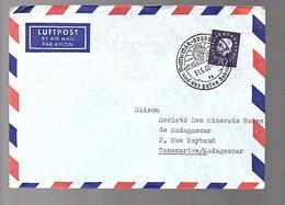 Heuss EF Mi 306,  Iidar-Oberstein Und Des Guten Schmucke > Tananarive Madagascar Miinerals  (590) - Lettres & Documents