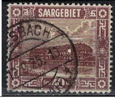 SARRE             N°     YVERT    93    ( 3 )          OBLITERE       ( Ob  5/26 ) - 1920-35 Saargebiet – Abstimmungsgebiet