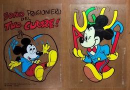 CARTOLINE DISNEY TOPOLINO - Disney