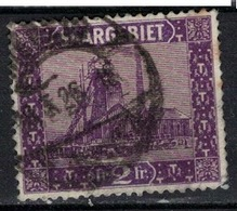 SARRE             N°     YVERT    98       OBLITERE       ( Ob  5/26 ) - 1920-35 Société Des Nations