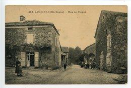 Augignac Rue De Piégut - France
