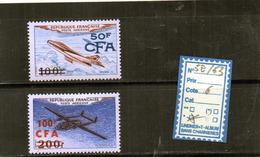 REUNION - CFA - PA 52/53* (A Charnière) - Isola Di Rèunion (1852-1975)