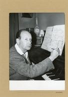 Le Compositeur MARCEL DELANOY  Grand Prix Musical Du Conseil Général De La Seine En 1961 - Personas Identificadas