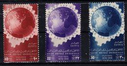 Egypt, 1949, SG 359 - 361, Complete Set Of 3, MNH - Égypte