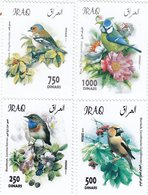 Iraq New Issue 2019, Birds Set Of 4 Stamps Complete Set MNH- Nice Topical Issue - Iraq