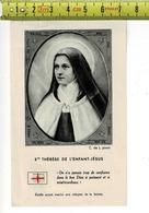 04 -RELIQUE RELIKWIE - STE THERESE DE L ENFANT JESUS - Santini