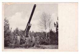 CPA  ARTILLERIE ALLEMANDE 14 18 - 1914-18