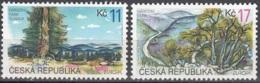Ceska Republika 1999 Michel 215 - 216 Neuf ** Cote (2015) 2.80 Euro Europa CEPT Parcs Naturels - Czech Republic