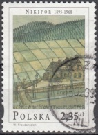 Polska 1998 Michel 3720 O Cote (2008) 2.20 Euro Nikifor Gare De Ugrybów Cachet Rond - 1944-.... République