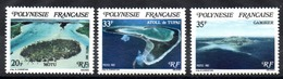 POLYNESIE - YT N° 186 à 188 - Neufs ** - MNH - Cote: 3,05 € - Nuevos