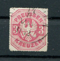 Preussen: 3 Kr. MiNr. 24 1867 Gestempelt / Used / Oblitéré - Prusse
