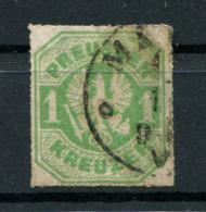 Preussen: 1 Kr. MiNr. 24 1867 Gestempelt / Used / Oblitéré - Prusse