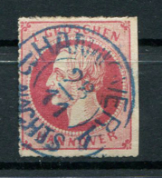 Hannover: 1 Gr. MiNr. 23 1864 Gestempelt / Used / Oblitéré - Hannover
