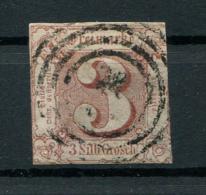 Thurn Und Taxis: 1 Sgr. MiNr. 11 1853 Gestempelt / Used / Oblitéré - Tour Et Taxis