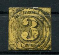 Thurn Und Taxis: 3 Sgr. MiNr. 9 1852-1858 Gestempelt / Used / Oblitéré - Tour Et Taxis