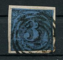 Thurn Und Taxis: 3 Kr. MiNr. 8 1862-1864 Gestempelt / Used / Oblitéré - Tour Et Taxis