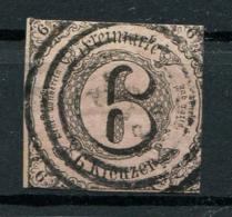 Thurn Und Taxis: 6 Kr. MiNr. 9 1852-1858 Gestempelt / Used / Oblitéré - Tour Et Taxis