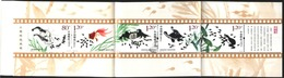Mint Stamps In Booklet Fauna 2013 From China - Fische