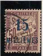 Port Said - 1921 - Taxe TT N°Yv. 8 - 15m Sur 50c Lilas - Oblitéré / Used - Gebraucht