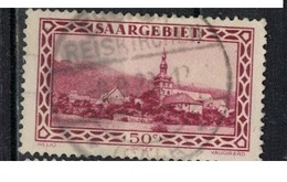 SARRE             N°     YVERT    113  OBLITERE       ( Ob  5/27 ) - 1920-35 Saargebiet – Abstimmungsgebiet