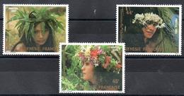 POLYNESIE - YT N° 205 à 207 - Neufs ** - MNH - Cote: 4,70 € - Neufs