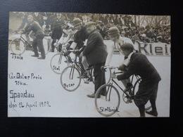 Osterpreis 1909 Berlin Mit Theile Stol Ryser Stellbrink  Cyclisme Radrennen Radsport  Cycling Velo Radfahrer - Cyclisme