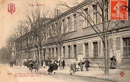 Tout Paris-sortie De L école Des Filles - Arrondissement: 20