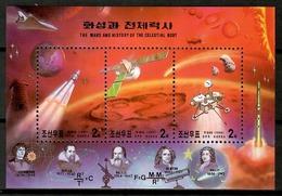 Korea North 1999 Corea / Space Astronomy MNH Astronomia Espacio Astronomie / Cu12937  34-29 - Astrología