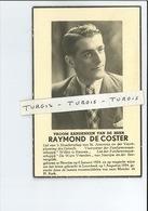 RAYMOND DE COSTER ° NEERIJSE ( HULDENBERG ) 1924 + TRAGISCH TE LOONBEEK 1954 - Images Religieuses